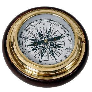 Silver Handicraft Real Nautical Compass