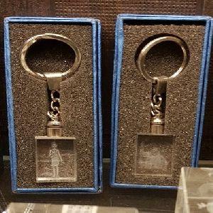 Crystal Glass Key Chain