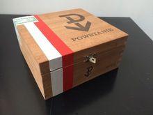 Pine Wood Cigar Box