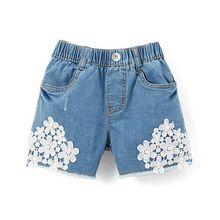 Girls Kids Jeans Shorts