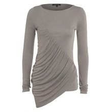 Ladies Solid Color Long Sleeve