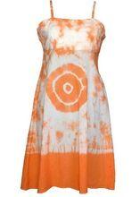 Girls Hand Tie Dye Cotton Fabric Dress