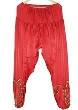 Girls Silk Designer Trouser