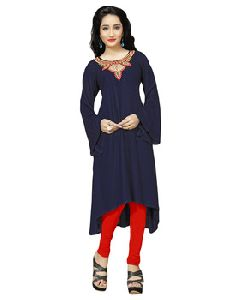 Womens Casual Daily Wear Stitched Kurtis