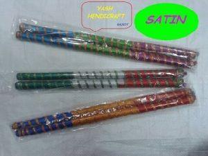Decorative Wooden Dandiya Sticks