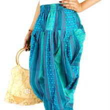 Multi Color Harem Pant