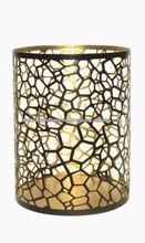 Metal Pillar Candle Holder