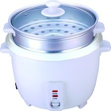 Electric Rice Cooker With Steamer