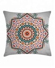 Bohemian Throw Digital Pillows Covers For Bed