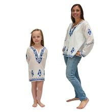 Cotton Summer Mother Daughter Matching Outfit