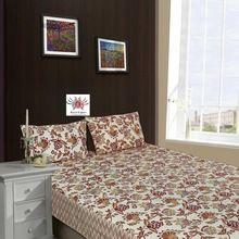 Flowers Printed European Design Cotton Bedsheet