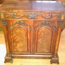Decorative Antique Hand Carved Wooden Cabinet