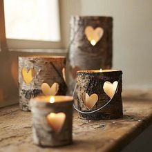 Decorative Floral Handmade Natural Candles