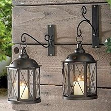 Hanging Garden Lantern Candle Holders
