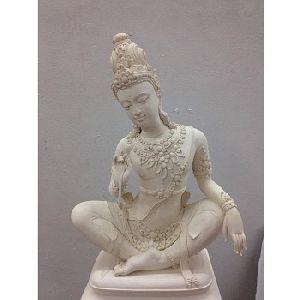 Lokeswara Stone Statue