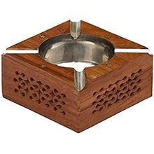 Wooden Decorative Ash Tray