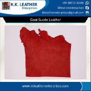 Goat Suede Leather For Shoes
