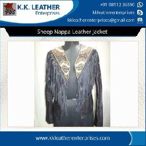 Sheep Nappa Leather Jacket