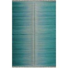 Handmade Wool Rainbow Area Design Rug Durry Carpet