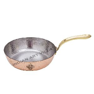 Copper Hammered Sauce Pan