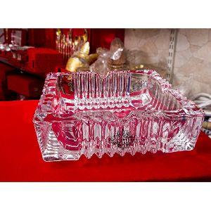 Crystal Designer Square Bowl