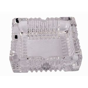 Crystal Square Bowl