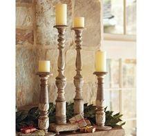 Wooden Pillar Holder
