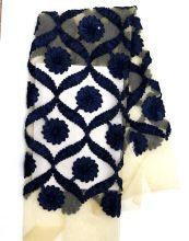 black Bridal Lace Fabric