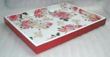 Resin Wooden Serving Tray