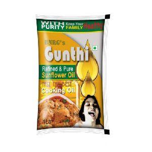 1 Litre Gunthi Refined Sunflower Oil