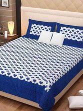 Jaipuri Cotton Double Bedsheets