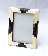 Bone And  Horn Photo Frame