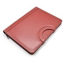 Genuine Leather Small Handle File Folder
