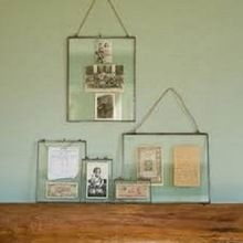 Hanging Glass Picture Frames