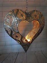 Heart Iron Shape Lantern