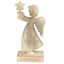 Christmas Standing Wooden Angel
