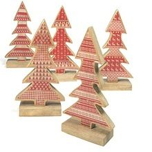 Christmas Standing Wooden Tree