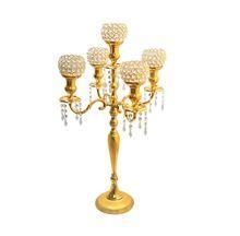 Crystal Gold Candelabra