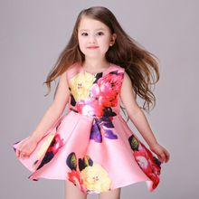 Polyester Summer Girl Dress