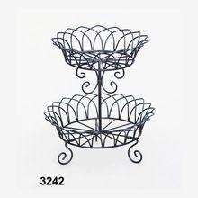 2 Tier Metal Fruit Basket