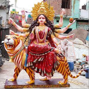 Fibre Durga Mata Statue