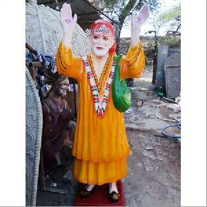 Fibre Sai Baba Standing Statue