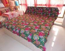 Cotton Blanket Hippie Bedspread