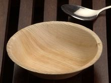 Palm Leaf Deep Dish Dinner Plates