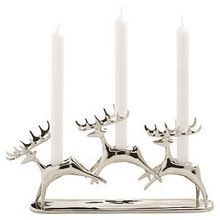 Aluminum Christmas Candle Stand