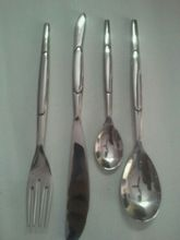 Aluminum Polished Cute Cutlery