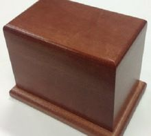 Hand Crafted Wooden Cremation Urn For Ashes