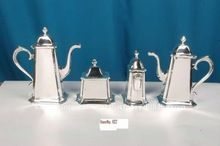 Silver Plated Brass Tea Pot Set