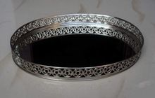 Silver Plated Iron Service Tray