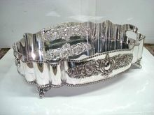 Silver Plated Oval Serving Tray